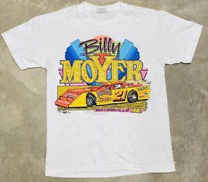 "Rare Vintage 1991 Billy Moyer ""Mr. Smooth"" Late Model Tee - Medium"