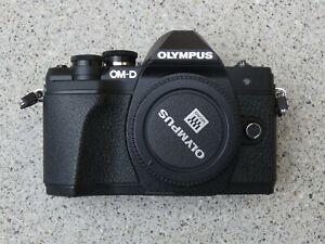 Olympus OM-D E-M10 Mark III 16.1MP Spiegellose Systemkamera - Schwarz (Nur Gehäu