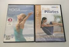 Lot 2 Colleen Saidman's Yoga for Weight Loss & Scott Pilates Basic Pilates DVD