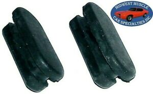 Ford Rubber Front Rear Axle Drum Brake Adjuster Plug Covers NOS Quality 2pcs KE