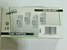 ELECTRIC PERRY 0081 TIME SWITCH SERIE MODULO DIN 35 mm 230V 50-60Hz A/250V