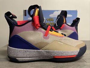Nike Air Jordan 33 XXXIII Visible Utility Desert Ore Black AQ8830-200 Size 11