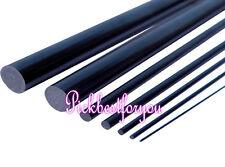 2pcs 6 mm Diameter x 500mm carbon Fiber Rod For RC Airplane Matte #MA12 QL