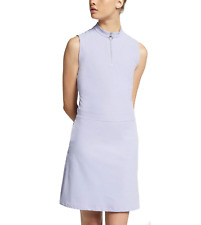 Womens Nike Flex Sleeveless Golf Dress Dri-Fit AV3668-506 Purple Lace Sz M $100