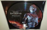 MICHAEL JACKSON HIStory CONTINUES (2018) BRAND NEW SEALED PICTURE DISC VINYL LP