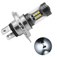 1X H4 Cree LED Motorcycle Headlight Bulb Hi/Low Beam 6500K White ATV UTV Scooter