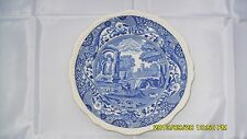"Antique Copland Spode ""Italian"" pattern porcelain dinner plate 10.1 in. diameter"