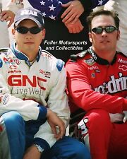 JIMMIE JOHNSON EXCEDRIN HANK PARKER JR 8X10 PHOTO 2001 NASCAR BUSCH SERIES
