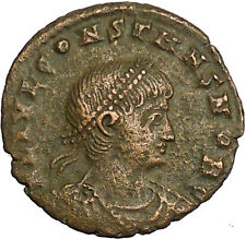Constans Gay Emperor Constantine the Great son Roman Coin Glory of Army i34909