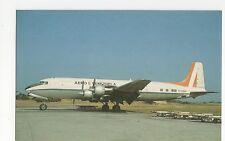 Aero Venezuela Douglas DC 6A/B at Port au Prince Aviation Postcard, A650