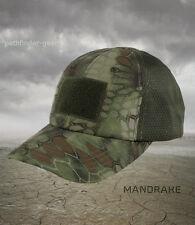 Condor Kryptek Mandrake camo OD Mesh Tactical Operators cap hat      Multicam