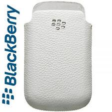 Custodia fondina originale in VERA PELLE bianca per Blackberry Torch 9800/9810
