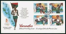 Mayfairstamps Vanuatu 2000 Olympics Combo First Day Cover wwp707