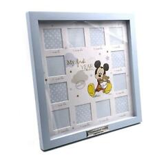 Personalised Disney Baby Mickey Mouse 12 Month Photo Frame My First Year DI546-P