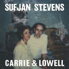 SUFJAN STEVENS CARRIE & LOWELL NEW SEALED VINYL LP IN STOCK
