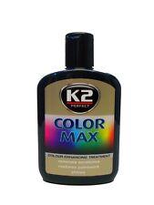 Schwarze Autopolitur Farbpolitur Wachspolitur Farbpigmen K2 Color Max 32,50€/l