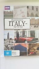 Francesco's Italy Top To Toe [ 2 DVD Set ] Region 4, FREE Next Day Post from NSW