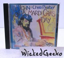 On a Mardi Gras Day by Dr. John and Chris Barber (CD, 1994, Great Southern)