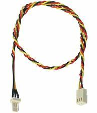 "Power Extension Cable for Case Fans and CPU Fans 18"" 3-pin"