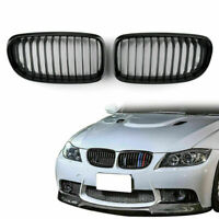 Gloss Black Front Kidney Grill Mesh Grille Nose For BMW E90 E91 LCI 09-12 AU5