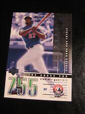 2002 Upper Deck Chase for 755 #C 11 Vladimir Guerrero - Montreal Expos