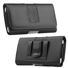 6.3' Phone pouch Cover Belt Clip Holster Leather Universal Case iPhone samsung