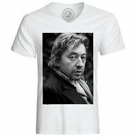 T-Shirt Homme Serge Gainsbourg Chanteur Musique Original 2