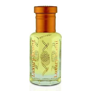Royal Saffron Amber Oud Perfume Oil 6ml Premium Quality Attar by Luxury Scent