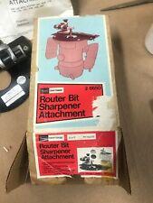 Sears Craftsman Router Bit Sharpening Attachment 9- 6650