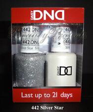 DND Daisy Silver Star 442 Soak Off DND Gel Polish .5oz LED/UV gel duo DND442