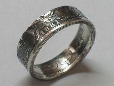 Declaração 1 mark Deutsches Reich 1914 plata 0.900 GR 58 coin anillo 7 mm