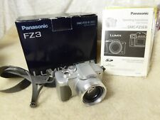 boxed Panasonic Lumix DMC-FZ3 Camera inc battery & genuine charger DE 994