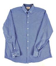 Penguin Men's 17.5 36/37 Heritage Slim Fit Button Down Dress Shirt Plaid / Check