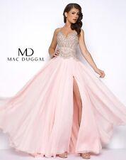 Authentic Mac Duggal 50392 Dress-Color: Blush -Size: 4 Prom Dress-Reg $598