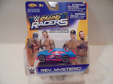 Raging WRaging Racers Rey Mysterio WWE Diecat Car Collectible NKOK 2014 3+