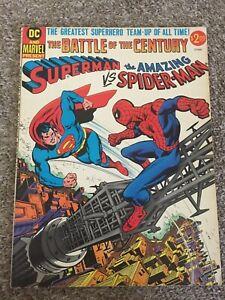 Superman vs Spider-Man Treasury Editions, Marvel / DC Bronze Age