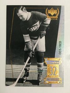 1999-00 UPPER DECK CENTURY LEGENDS CENTURY COLLECTION #32 NEWSY LALONDE /100