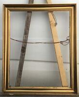 Antiker Bilderrahmen Goldstuck Vintage Profilrahmen innen 64,5 x 52,1 cm Zeitlos
