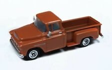 HO SCALE: LOWER PRICE! 1955 CHEVROLET PICKUP - AUTUMN BROWN - CMW30558