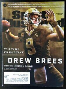 New Orleans Saints Drew Brees Sports Illustrated Magazine