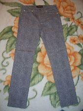 Fabulosity Skinny Jeans Leopard Print Size 5 Inseam 30 EUC