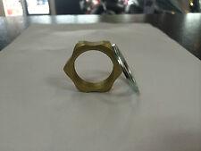 Suzuki GSXR 600 750 1000 Top Yoke Nut with Washer - Gold