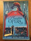 Phantom Of The Opera 2013 Poster By Laurent Durieux - Dark Hall Mansion Series