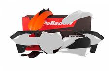 Polisport Plástico KIT PARA KTM SX 85 2013-2017 OEM 17 NARANJA BLANCO 90710