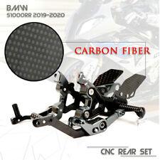 Motorcycle CNC Adjustable Footrests Rearset Rear Sets For BMW S1000RR 2019-2020