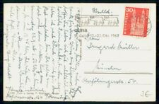 Mayfairstamps Switzerland 1960 Bull Slogan Cancel to Munich Postcard wwf54605
