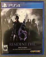 Resident Evil 6 - PS4 New Excellent Condition PlayStation 4