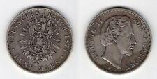 BAYERN   5 Mark 1876 D   Ludwig II.