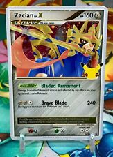 Zacian Lv.X SWSH135 Pokemon Celebrations 25th Anniversary Promo Card  MINT-NM