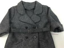 American Girl Kit's Gray Wool Winter Coat/Jacket~Pleasant Company Tag~Historical